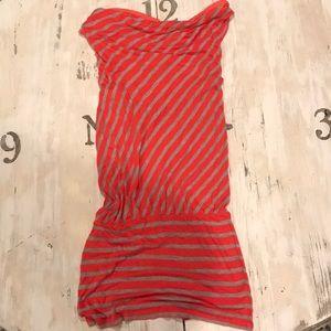 Dresses & Skirts - Gray and Orange Ella Moss Dress